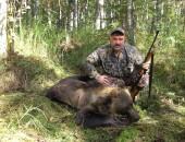 Охота на медведя. Охота в Вологодской области